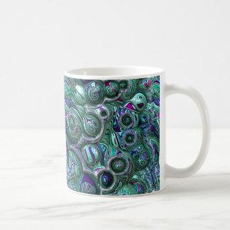 Colorful Abstract 3D Blur Coffee Mug