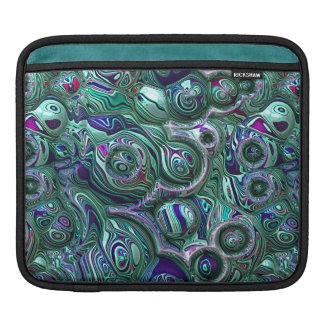 Colorful Abstract 3D Blur iPad Sleeve