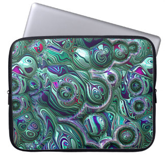 Colorful Abstract 3D Blur Laptop Sleeve