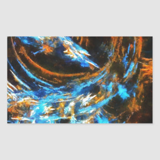 Colorful Abstract Art No 4 Stickers