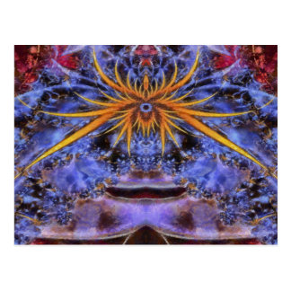 Colorful Abstract Art No 5 Post Card