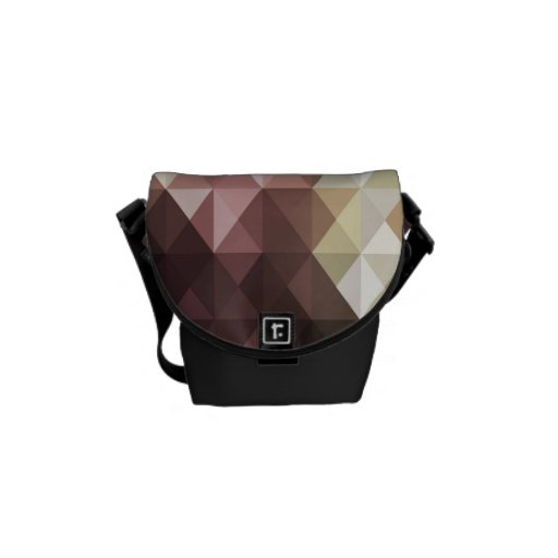 Colorful Abstract Art Rickshaw Mini  Messenger Bag