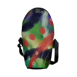 Colorful Abstract Art Shoulder Bag Courier Bags