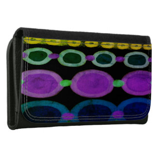 Colorful Abstract Art Wallet