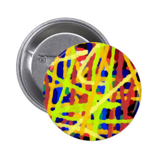 Colorful Abstract Artwork 6 Cm Round Badge