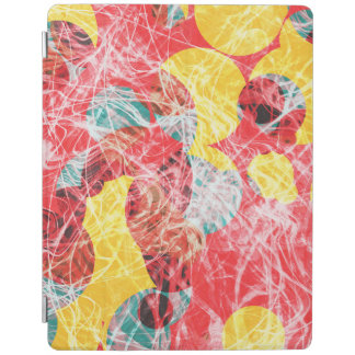 Colorful abstract artwork iPad cover