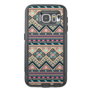 Colorful Abstract Aztec Tribal Pattern