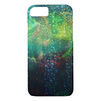 Colorful Abstract Background With water Drops Case