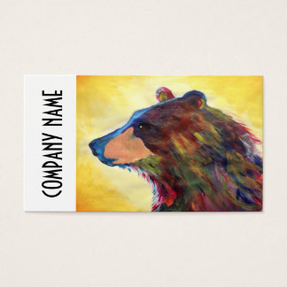 Colorful Abstract Bear Art