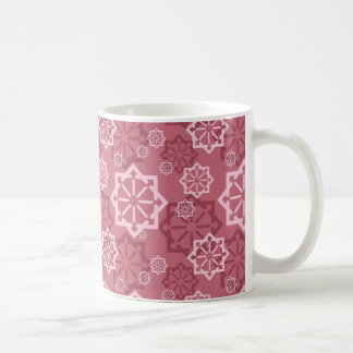 Colorful Abstract Decorative Christmas Trees Mugs