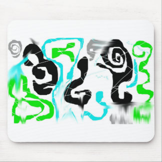 Colorful Abstract Design Mouse Pad