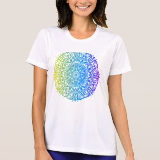 Colorful abstract ethnic floral mandala design T-Shirt