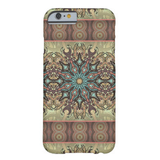 Colorful abstract ethnic floral mandala pattern barely there iPhone 6 case