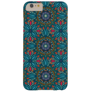 Colorful abstract ethnic floral mandala pattern barely there iPhone 6 plus case