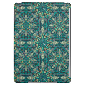 Colorful abstract ethnic floral mandala pattern de