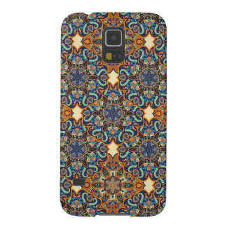 Colorful abstract ethnic floral mandala pattern de case for galaxy s5