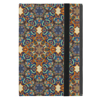 Colorful abstract ethnic floral mandala pattern de case for iPad mini