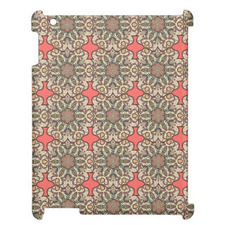Colorful abstract ethnic floral mandala pattern de cover for the iPad 2 3 4
