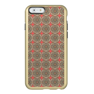 Colorful abstract ethnic floral mandala pattern de incipio feather® shine iPhone 6 case