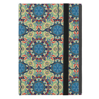 Colorful abstract ethnic floral mandala pattern de iPad mini case
