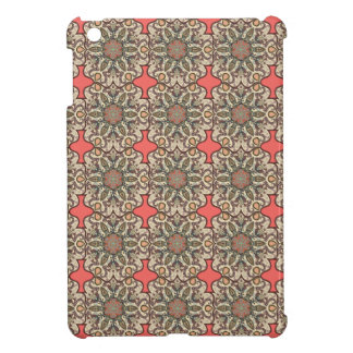 Colorful abstract ethnic floral mandala pattern de iPad mini cover