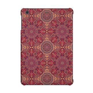 Colorful abstract ethnic floral mandala pattern de iPad mini retina cover