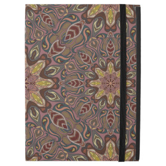 "Colorful abstract ethnic floral mandala pattern de iPad pro 12.9"" case"