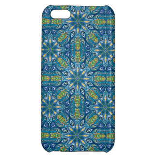 Colorful abstract ethnic floral mandala pattern de iPhone 5C case
