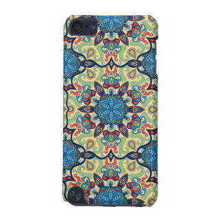 Colorful abstract ethnic floral mandala pattern de iPod touch 5G case
