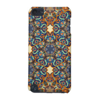 Colorful abstract ethnic floral mandala pattern de iPod touch (5th generation) case