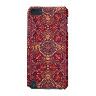 Colorful abstract ethnic floral mandala pattern de iPod touch (5th generation) cases