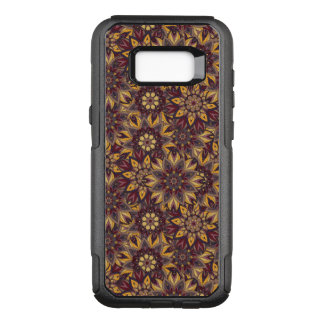 Colorful abstract ethnic floral mandala pattern de OtterBox commuter samsung galaxy s8+ case