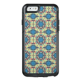 Colorful abstract ethnic floral mandala pattern de OtterBox iPhone 6/6s case