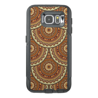 Colorful abstract ethnic floral mandala pattern de OtterBox samsung galaxy s6 case