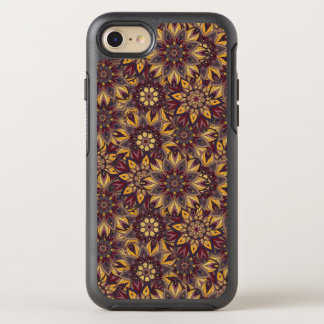 Colorful abstract ethnic floral mandala pattern de OtterBox symmetry iPhone 8/7 case