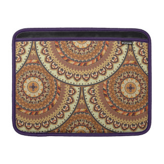 Colorful abstract ethnic floral mandala pattern de sleeve for MacBook air