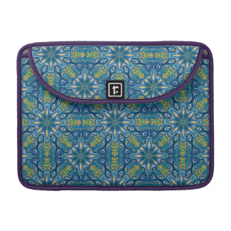 Colorful abstract ethnic floral mandala pattern de sleeve for MacBooks