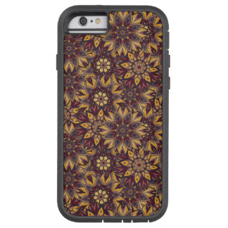 Colorful abstract ethnic floral mandala pattern de tough xtreme iPhone 6 case