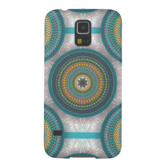Colorful abstract ethnic floral mandala pattern galaxy s5 cover