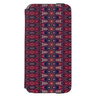Colorful abstract ethnic floral mandala pattern incipio watson™ iPhone 6 wallet case