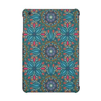 Colorful abstract ethnic floral mandala pattern iPad mini retina cover