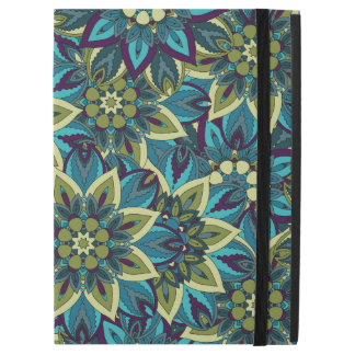 """Colorful abstract ethnic floral mandala pattern iPad pro 12.9"""" case"""