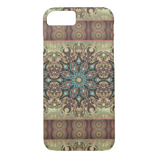 Colorful abstract ethnic floral mandala pattern iPhone 8/7 case
