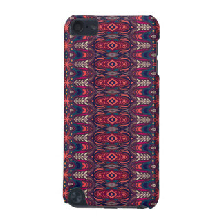 Colorful abstract ethnic floral mandala pattern iPod touch 5G cases