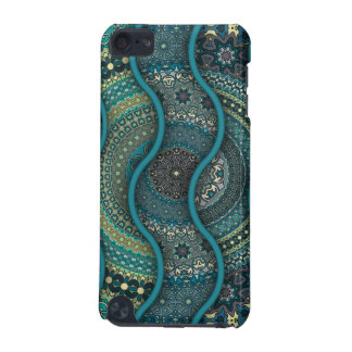 Colorful abstract ethnic floral mandala pattern iPod touch (5th generation) case
