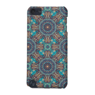 Colorful abstract ethnic floral mandala pattern iPod touch (5th generation) covers