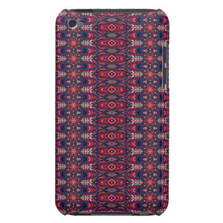 Colorful abstract ethnic floral mandala pattern iPod touch case