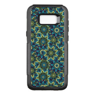 Colorful abstract ethnic floral mandala pattern OtterBox commuter samsung galaxy s8+ case