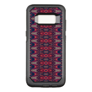 Colorful abstract ethnic floral mandala pattern OtterBox commuter samsung galaxy s8 case