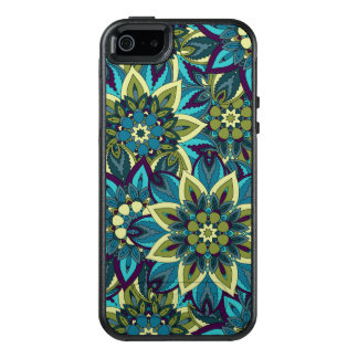 Colorful abstract ethnic floral mandala pattern OtterBox iPhone 5/5s/SE case